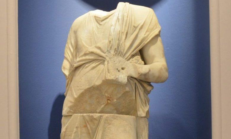 Τα αγάλματα στο μουσείο της Κω θεραπεύθηκαν...