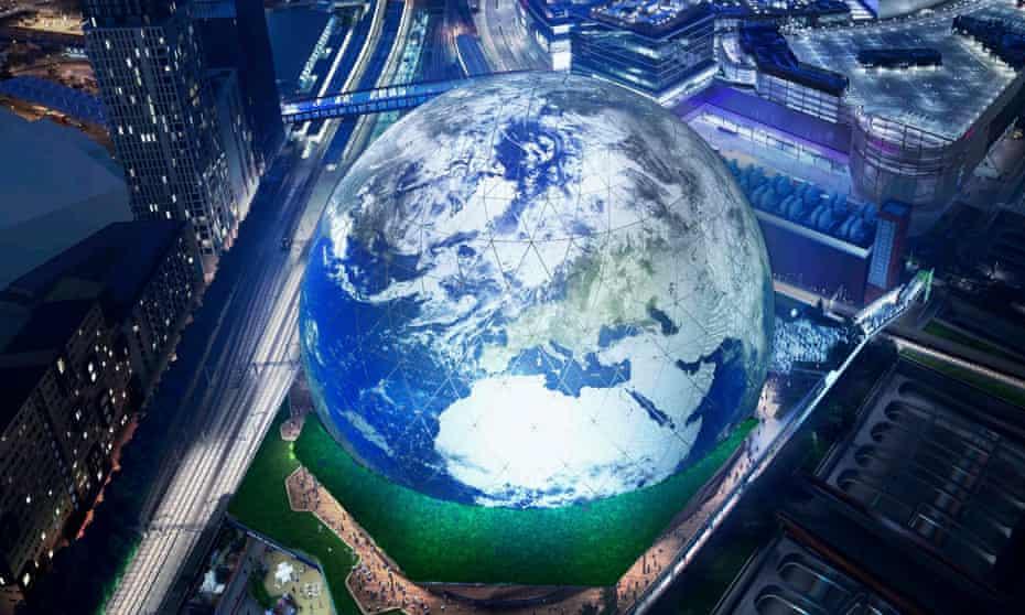 msg sphere λονδίνο