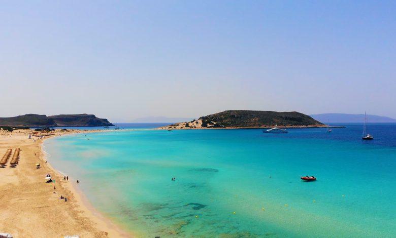 Σίμος παραλία Ελαφόνησος