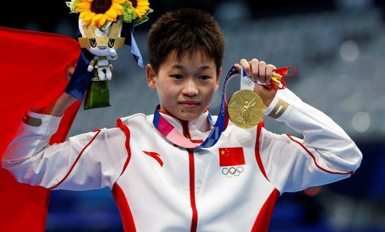 14χρονη χρυσό μετάλλιο καταδύσεις