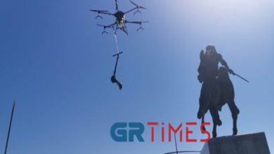 drone Θεσσαλονίκη πατίνια