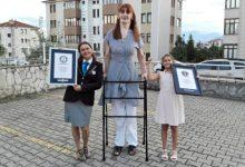 ρεκόρ ψηλότερη γυναίκα στον κόσμο