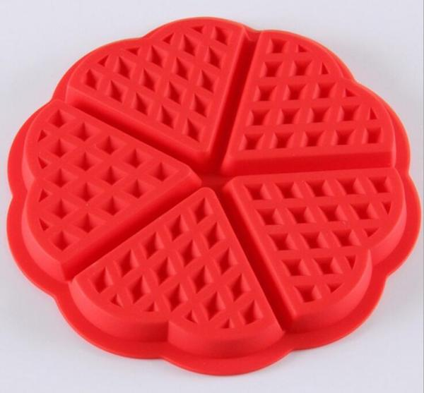 Heart-shaped Waffles 5-Cavity Oven Muffins