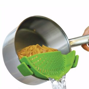 Kitchen Clip On Pot Strainer Drainer For Draining