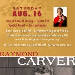 <i>Podcast:What's Up Bainbridge</i><br>Raymond Carver stories at BPA benefits Field's End on Aug 16