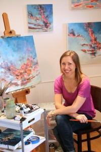 Artist Kelly Johnston