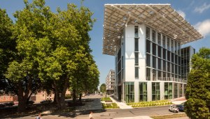 "The ""living building"" concept is exemplified by the greenest building in Seattle - the Bullitt Center"