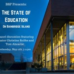 """<i>Podcast: What's Up Bainbridge: </i><br>BSF """"State of Education"""" Event May 11 at IslandWood"""