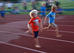 The annual Bainbridge Kiwanis All Comers Track Meet returns on Monday July 11 at 6pm at BHS. Credit: Luciano Marano and Bainbridge Review.
