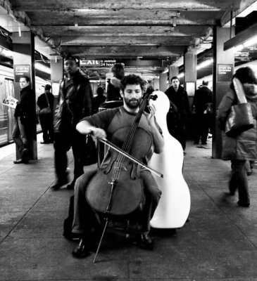 "Cellist Dale Henderson started the ""Bach in the Subway"" movement to sow the seeds for future generations of classical music lovers"