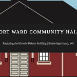 <i>Podcast: Community Cafe: </i><br>From Historic Bakery to Community Hall: The Fort Ward Restoration Project