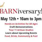 <i>Podcast: What's Up Bainbridge: </i><br>BARNIVERSARY! Celebrate BARN's first year in their new building Saturday, May 12