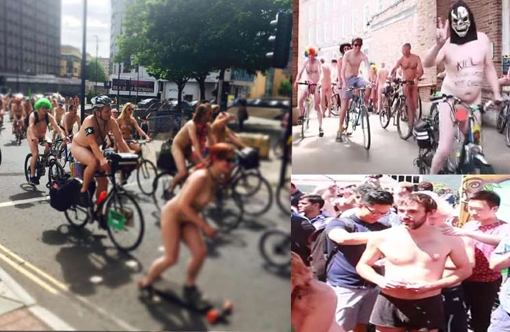 naked bike ride bristol