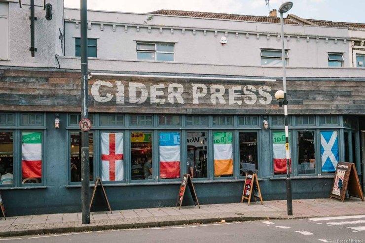 cider press on gloucester road