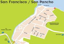 San Francisco Nayarit Mexico Map