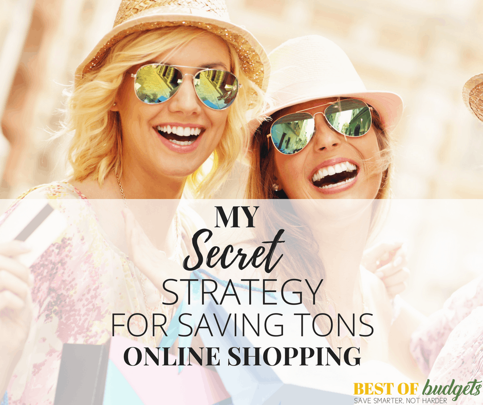 My Secret Strategy for Saving Tons Online Shopping
