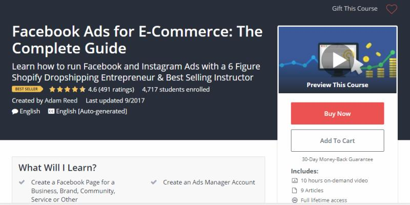 Facebook Ads for E-Commerce: The Complete Guide Review
