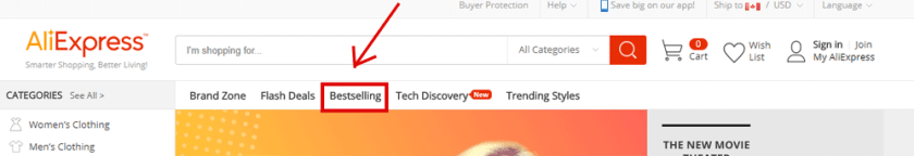 Shopfy Product Research using Aliexpress