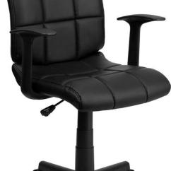 Cheap Rolling Chairs Peacock Wicker Chair 5 Best Budget Office Under 50 For Your Home 2018 Flash Furniture Mid Back Black Quilted Vinyl Swivel Task Review
