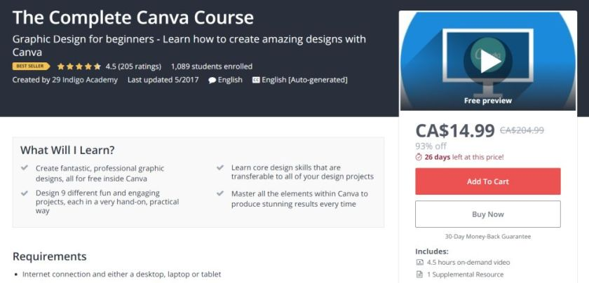 Complete Canva Training Course