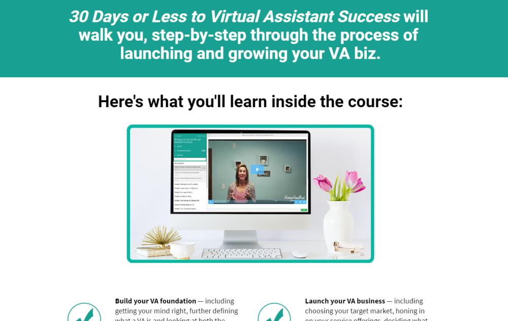 30 Days to Virtual Assistant Online Training Course