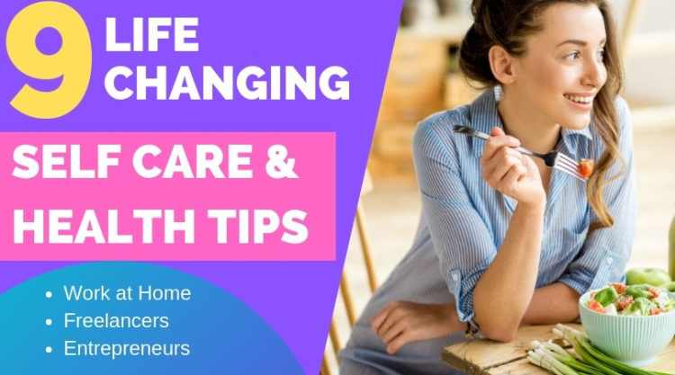 It's not all roses and sunshine being a freelancer or working at home. Here are 9 essential self care tips that have helped me become more productive and healthier as a freelancer.