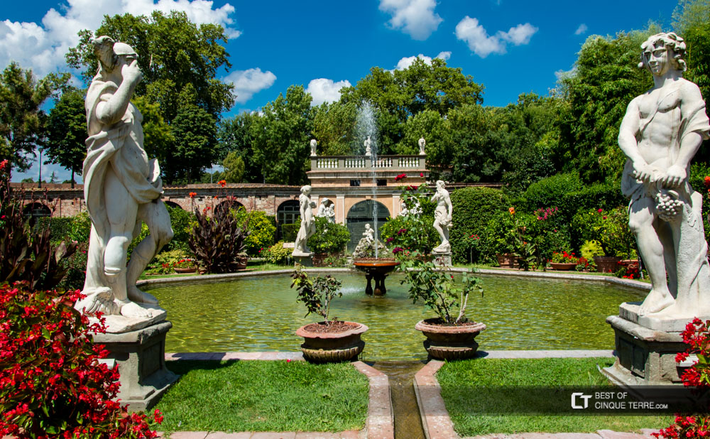 Lucca Giardino di Palazzo Pfanner