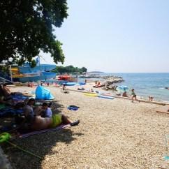Lawn Chair With Shade Animal Print Dining Chairs Beach Camp Zelena Laguna - Poreč ♥ | Bestofcroatia.eu Guide