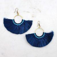 Flashy Fringe Earrings - Best of Everything | Online Shopping