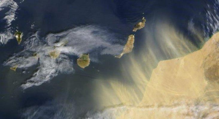 Calima on the Canary Islands