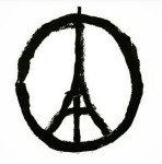 paris attacks peace sign