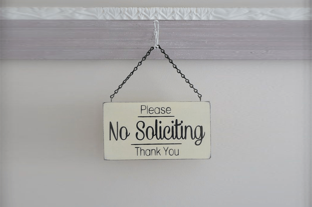 A Primer On No Soliciting Signs What Are They Do They Work Best Of Signs Blogs For Banners Printing Tips Services