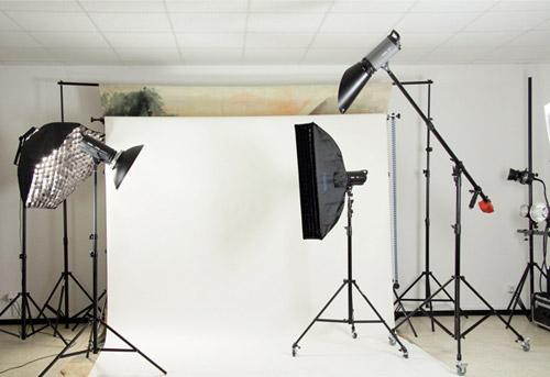 Fotostudio Ausruestung