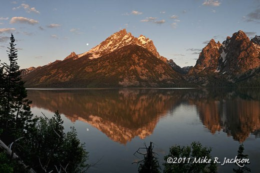 Jenny Lake Moon July16