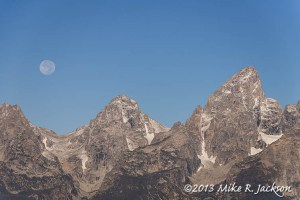 Ridge Line Moon Sept. 20