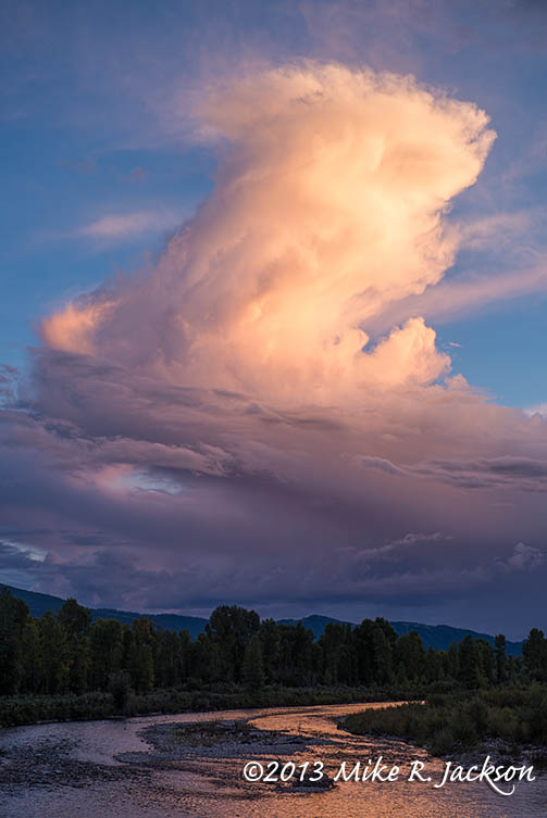 Clouds over the Gros Ventre