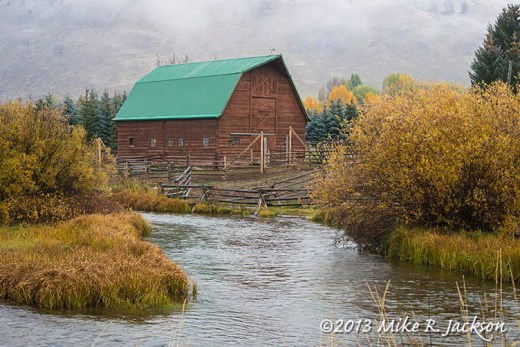 Flat Creek Barn Oct13