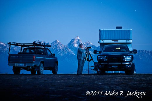 Camping on Shadow Mountain