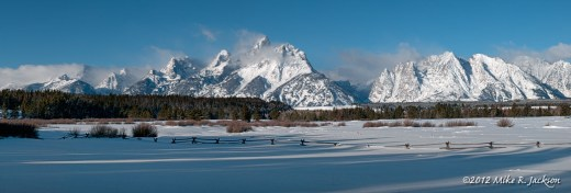 Grand Tetons Pano Jan27