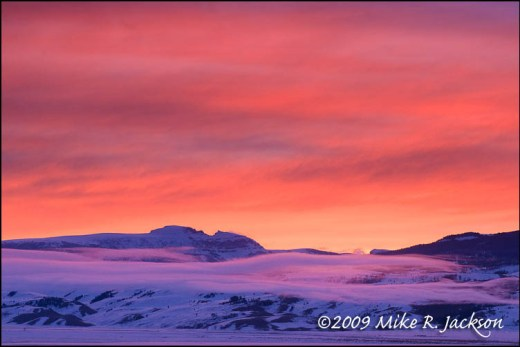 Sunrise Over Sleeping Indian 2