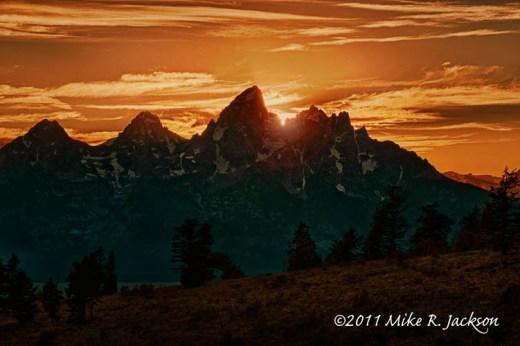 Sunset Over Grand