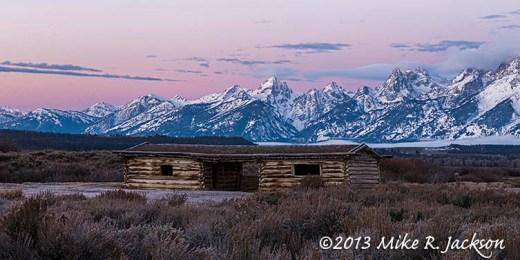 Cunningham Cabin Buck Mtn Nov10