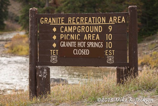 Granite Sign Oct11