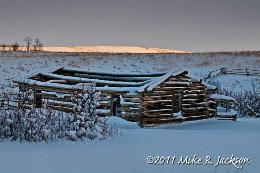 Shane Cabin Snow Nov19