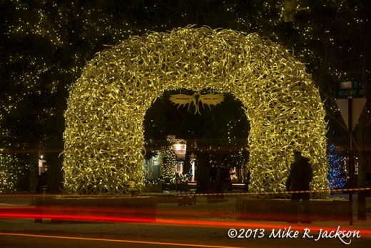 Christmas Streaks and Arch Dec15