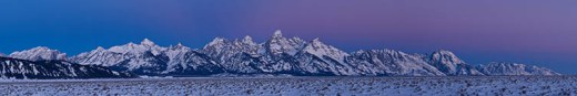 Panoramic Alpenglow