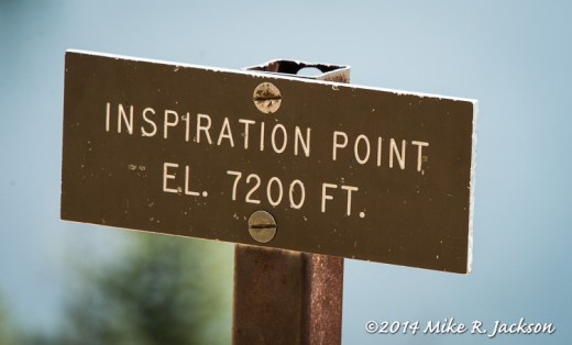 Inspiration Point Sign