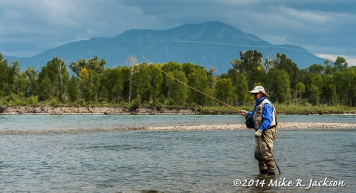 Dave Fishing on the South Fork