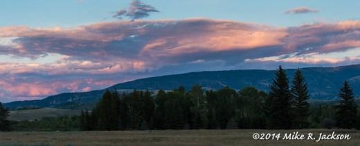 Gros Ventre Sunset