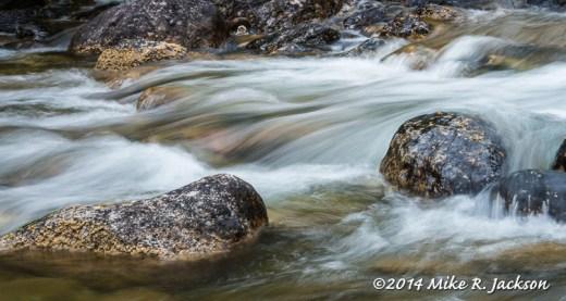 Rusing Water on Lake Creek